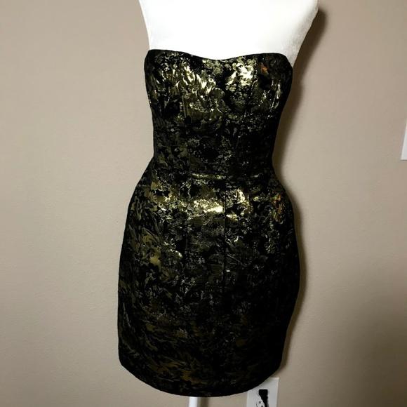 Sweet Rain Dresses & Skirts - Black Golden Dress